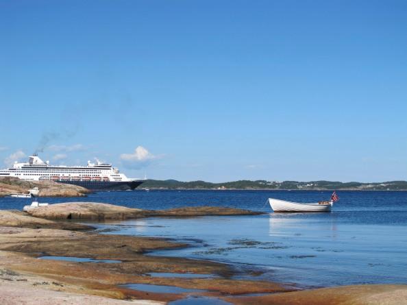 Turistvekst på Sørlandet sommeren2012