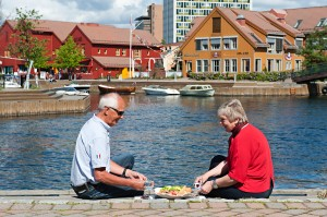 Fiskebrygga, Kristiansand. Foto Terje Rakke, Nordic Life, Innovasjon Norge