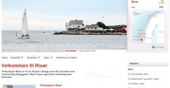 Visit RISØR weblansering
