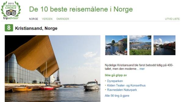 Kristiansand_TripAdvisor_2015