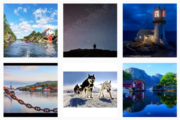 Ett år med Instagram ambassadører på@visitsorlandet